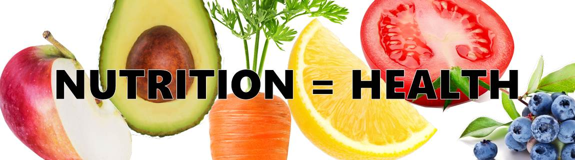 Nutrition Equals Health header image